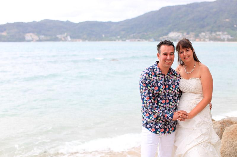 pretty Phuket wedding