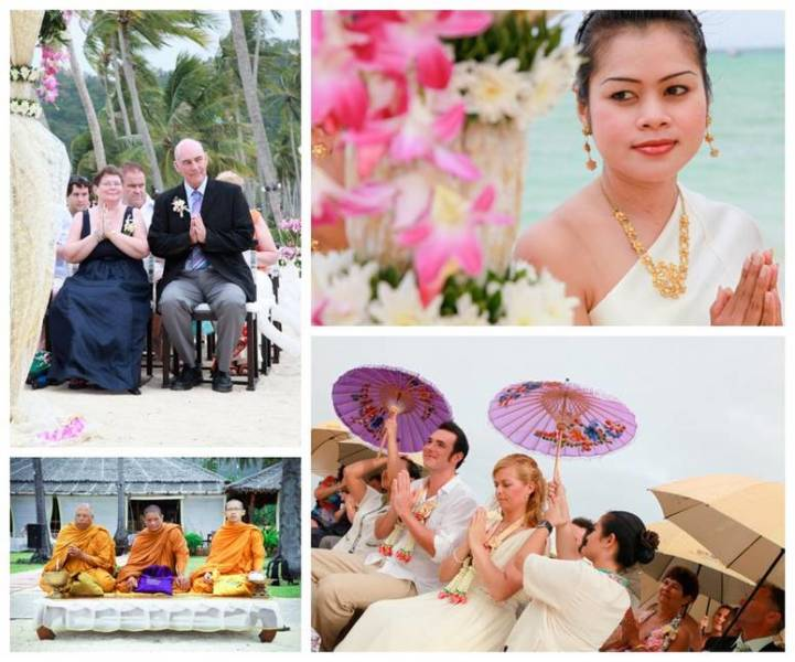 Buddhist wedding Thailand
