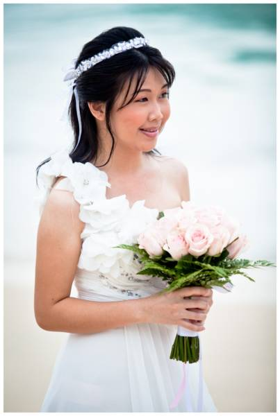Phuket beach pre-wedding