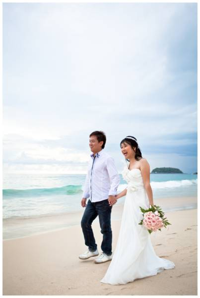 Phuket beach pre-wedding