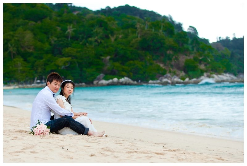 Phuket prewedding photography