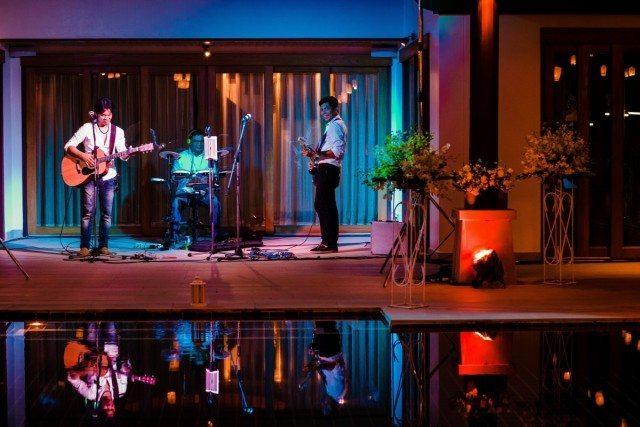 Phuket wedding band