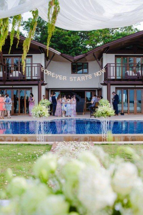 Phuket wedding villa