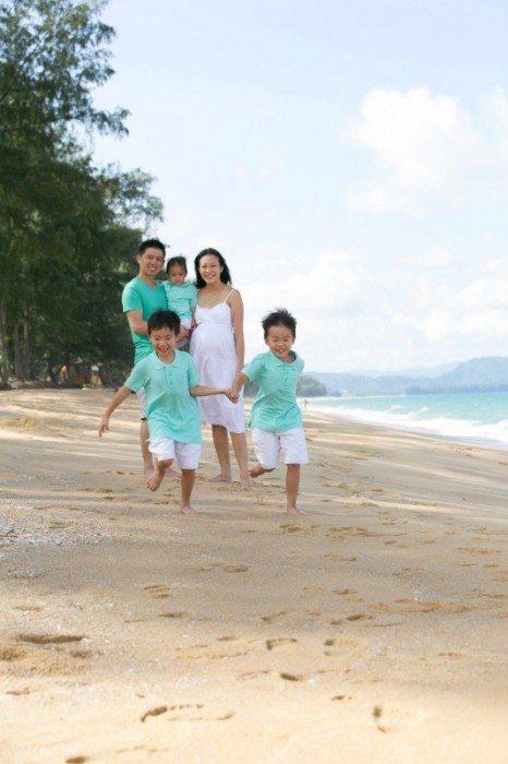 Phuket family portraits