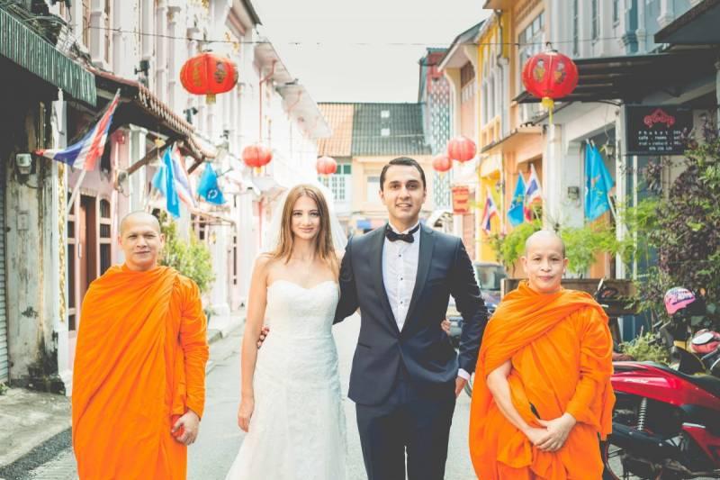 Phuket old town bridal