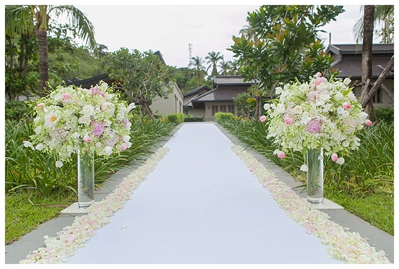 Phuket wedding flowers