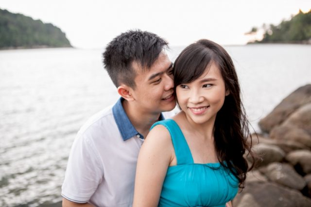 Phuket engagement session