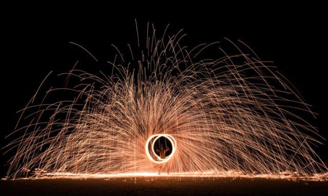 fire performer Phuket