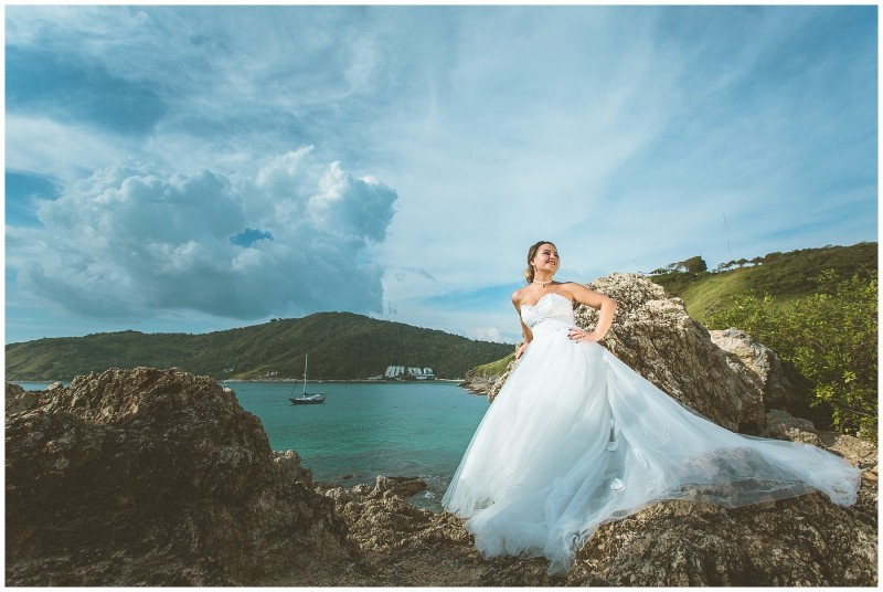 trash the dress Phuket