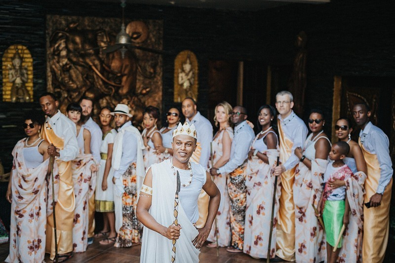 Traditional Burundian wedding in Phuket