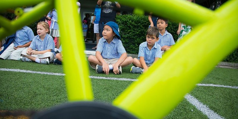 People all over Thailand are supporting the annual Ride 4 Kids event. At KIS yesterday the school had a fundraiser with parents, kids and teachers riding bikes and scooters around…