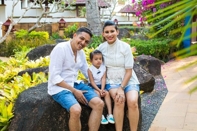Indian family JW Marriott