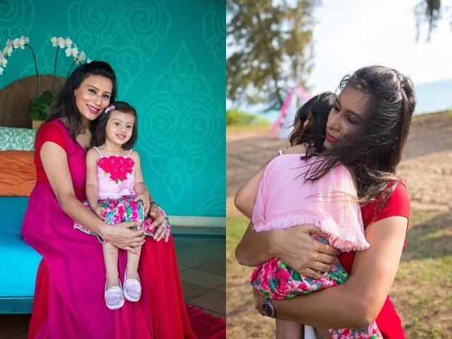Indian family JW Marriott