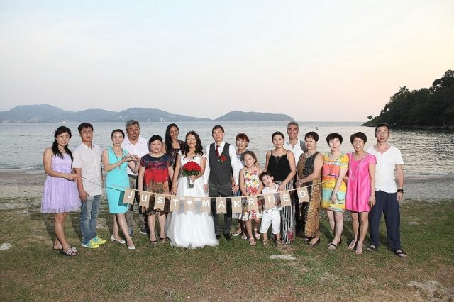 Thavorn Beach Village wedding