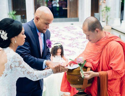 Amatara Buddhist & Western wedding