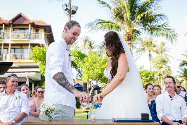 Marriott wedding ceremony