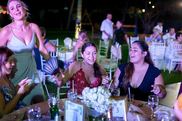 Marriott wedding reception