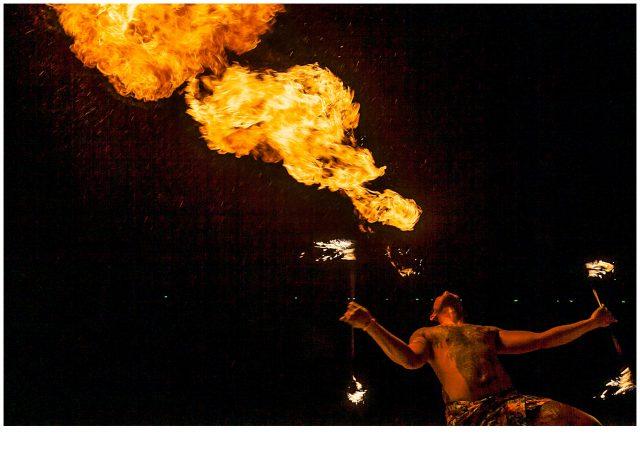 phuket fire show