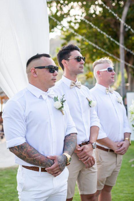 Merlin Beach wedding