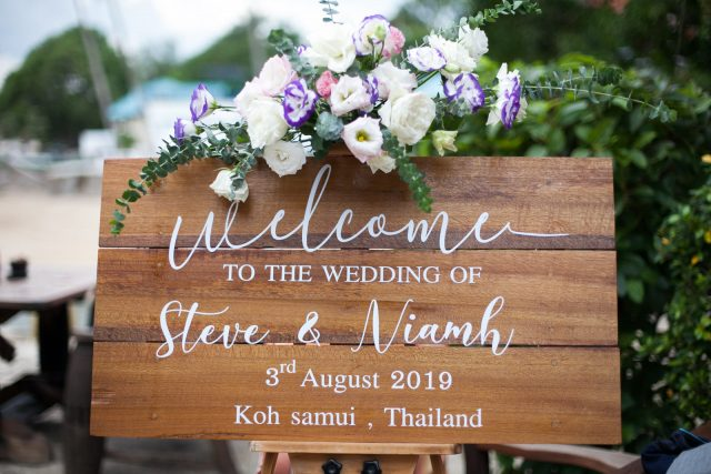 Samui wedding