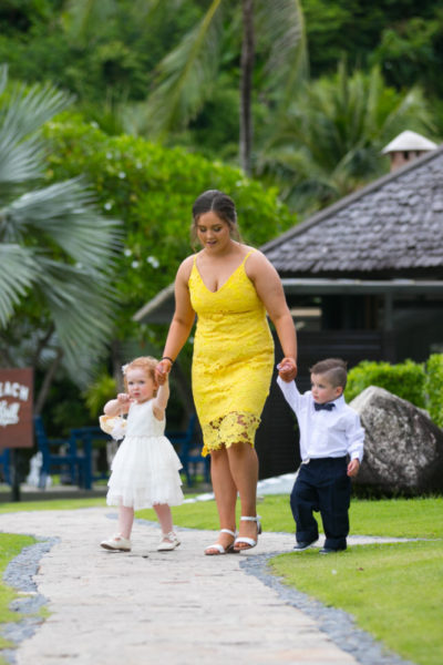 Phuket resort wedding