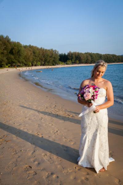 Phuket sunset wedding